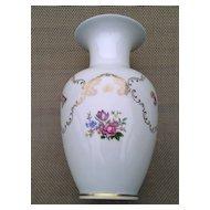 Reichenbach German Porcelain Floral Vase Pattern 1023P