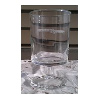 Midwest Express Airlines Wine Glass