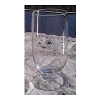 Northwest Airlines Wine Glass