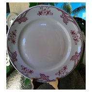 Shenango Rose Point Dinner Plate ~ Matches Chardon Rose