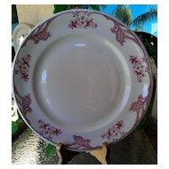Shenango Rose Point Dinner Plate ~ Matches Chardon Rose