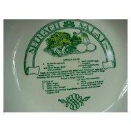 Royal China Garden Classics Spinach Salad