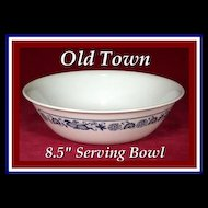 Corelle Old Town Blue Onion Vegetable Bowl