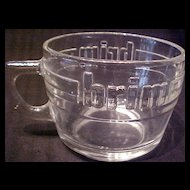 Brim Coffee Glass Cup ~ Set of 4