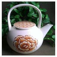 Nikko Teapot Hana Collection Floral by Hiroko Koshino