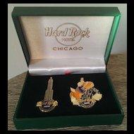 Hard Rock Hotel Chicago Pin Set WB