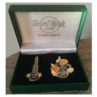 Hard Rock Hotel Chicago Pin Set WB