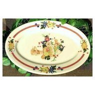 Syracuse China Old Abbey Restaurant Ware Platter