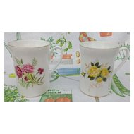 Royal Windsor Floral Mug Set D3123 & D3131