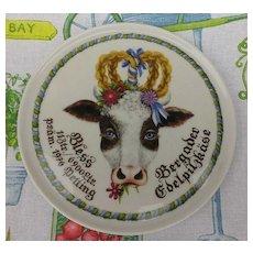 Helmut Fritz Goller & Grill Cow Plate - Bless