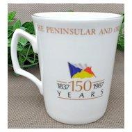 The Peninsular & Oriental Steamship Company Commemorative Mug