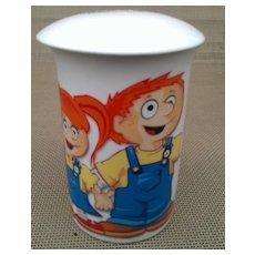 Genotropin Advertising Stoneware Coffee Mug with Lid - Pfizer