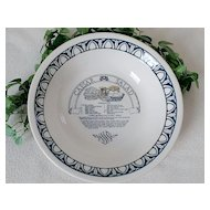 Royal China Garden Classics Caesar Salad Recipe Bowl