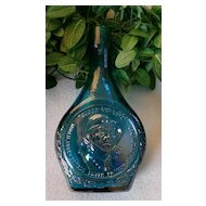 Wheaton Carnival Glass George Patton Decanter, Great American Series