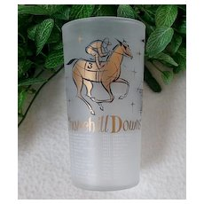 1957 Kentucky Derby Mint Julep Glass