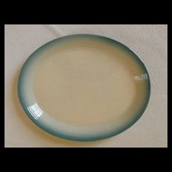 """Franciscan China Country Craft Blue Skies 14"""" Oval Serving Platter"""