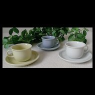 Thomas / Rosenthal Pastel Espresso Cup & Saucer Set