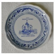 Saugerties Lighthouse Conservancy Commemorative Plate by Syracuse