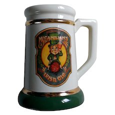 Department 56 McCanihan's The Finest Irish Ale Beer Stein / Mug
