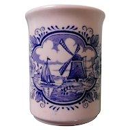 English Ironstone Tableware Blue Delft Mug