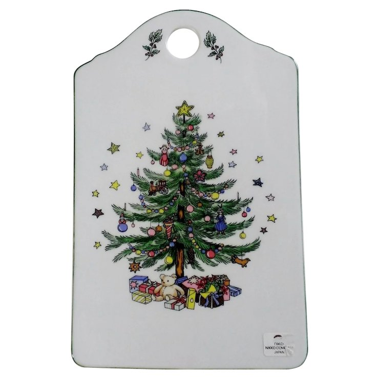 Nikko Christmastime Snack & Cheese Board : Annie\'s Avenue Antiques ...