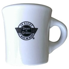 Steak n Shake Restaurant Ware Mug by Buffalo China