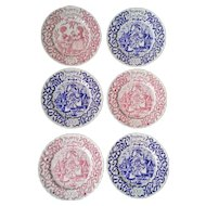 Royal Crownford Christmas Plate Set of 6
