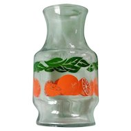 "Anchor Hocking ""Oranges"" Juice Carafe"