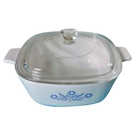 Corning Cornflower Blue 1.5 Qt Casserole