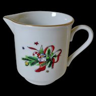 Salem China Christmas Eve Porcelain Creamer