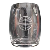 Pan Am 1970's Cordial Glass