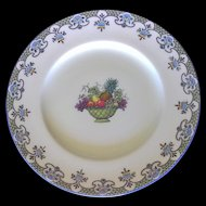 Vintage Royal Cauldon Dinner Plate Pattern V5282
