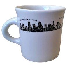 Fishs Eddy New York Skyline Mug