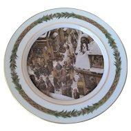Dept 56 Christmas Classic Dinner Plate