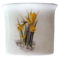 Royal Worcester Alpine Flowers Cigarette Holder