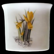 Royal Worcester Alpine Flowers Cigarette Holder