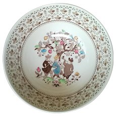 Johnson Brothers Sugar & Spice Brown Dinner Plate