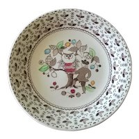 Johnson Brothers Sugar & Spice Brown Bread Plate  ( 7 available)