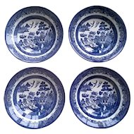 Churchill Willow Blue Coupe Soup Bowl