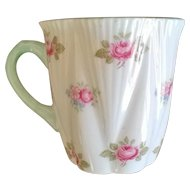Shelley Rosebud Demitasse Cup ~ Orphan