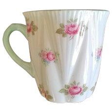 Shelley Rosebud Demitasse Cup