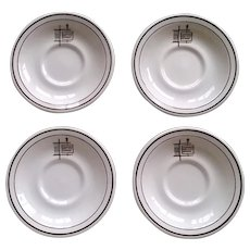 International House of Pancakes Saucer Set
