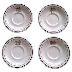 International House of Pancakes Saucer Set