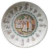 Royal Doulton 1977 Virgo Almanack Kate Greenaway Plate