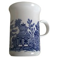 Churchill Blue Willow Mug