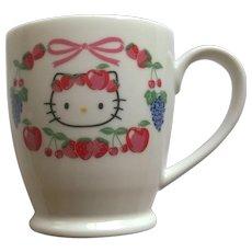 Hello Kitty Mug 1976-2002
