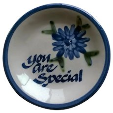 """Louisville Stoneware """"You are Special"""" Plate"""