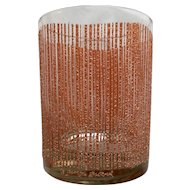 Georges Briard Icicle Coral Old Fashioned Tumbler