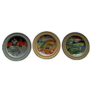 Schramberg SMF Decorative Folk Art Plate Set