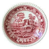 Spode Tower Pink Saucer